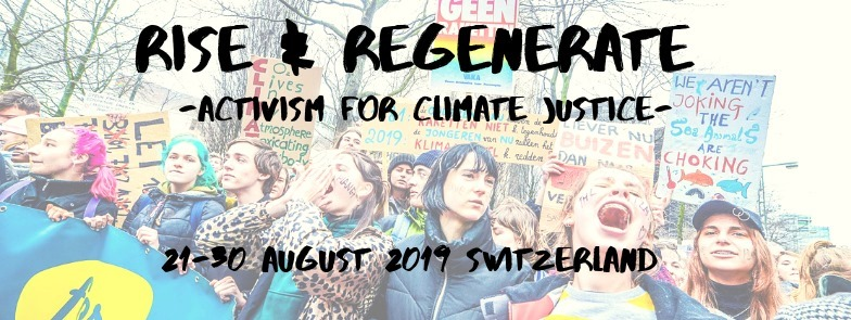 activsm for climate justice 21 30 aug.19
